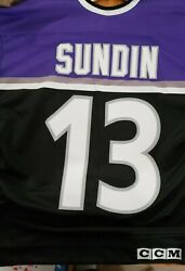 Mats Sundin Autograph All Star Jersey Western Conference 1997 Ccm Signed Auto