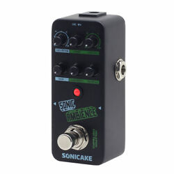 Sonicake Sonic Ambience Tap Tempo Delay And Reverb Guitar Bass Effects Pedal