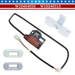 W10404050 Lid Lock Latch Switch Assembly Fits Whirlpool Kenmore Maytag Washer