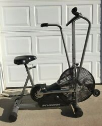 Schwinn Airdyne Evolution Comp Upright Exercise Cycle Retail 900 Pickup Only