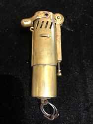 Vintage Imco Ww1 Brass Trench Lighter Made In Austria Pat 105107