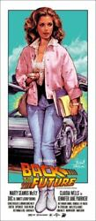 Back To The Future Rockin Jelly Bean Screen Print/poster Artist Proof From Jpn