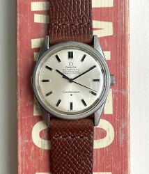 Vintage Omega Constellation Chronometer Certified Automatic Silver Dial Watch