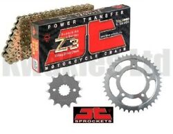Jt Z3 Gold X-ring Chain And Sprockets For Honda Nc750s Nc750 2014-2019