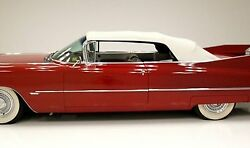 1959-1960 Cadillac Olds 98 Electra Convertible Top Plastic Window Pads Gm White