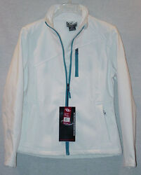 Cb Sports Ladies White High Performance Ski Jacket Size Large New With Tags