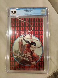 Notti And Nyce 17 Cgc 9.8 Amazing Spiderman 300 Cgc Metal Homage Cover Only...