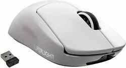 Logicool G Pro X Superlight Wireless Gaming Mouse G-ppd-003wl-wh