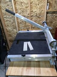 Rare Bullet Tools 926 26 Magnum Shear Flooring Siding Cutter W/ 2 Angle Guides