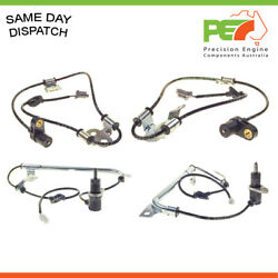 4x New Oem Front And Rear Wheel Speed Sensors For Subaru Forester Gt 2.5l Ej253