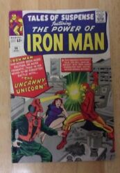 Tales Of Suspense 56 Solid Vg 1964 1st Unicorn Looks Better+tales Of Watcher