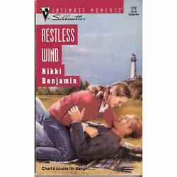 Silhouette Intimate Moments Restless Wind By Nikki Benjamin 1993 Paperback