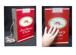 Vintage Jockey Club Cigarrete Argentinian Acrylic Sign