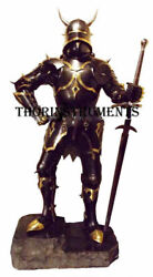 Medieval Knight Suit Of Armor Ancient Wearable Full Body Costume With Helmet