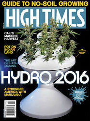 High Times Magazines February 2016 Pot On Indian Land Hash Making Art Brand New