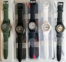 Swatch Special 2019/2021 - Hodinkee Set - Number 5 Watches Sistem 51 Sold Out