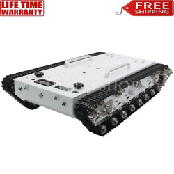 Wt600s Robot Tank Chassis Metal Tracked Tank Car Rc Off-road Vehicle With Remote