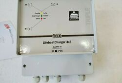 Defa 701361 Life Boat Battery Charger 42v Ac To 3 Outputs X 12volt 3x5a Ip66