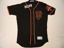 San Francisco Giants Authentic Mlb Jersey Size 40 Medium, Flex Base Made In Usa
