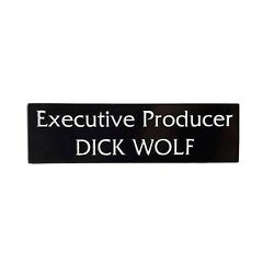 Executive Producer Dick Wolf Law And Order Heady Enamel Festival Hat And Lapel Pin