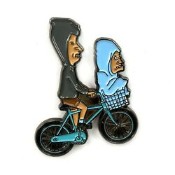 Beavis And Butthead Tp Phone Home Et Enamel Pin Festival Hat And Lapel Heady