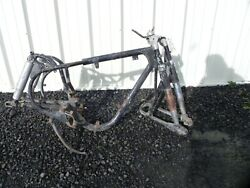 Vintage 1957 Maico Werk M25 S/1 Motorcycle Chassis Frame Fork No Papers Rare