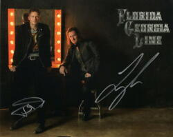 Florida Georgia Line Signed Autograph 8x10 Photo - Dig Your Roots, Life Rolls On
