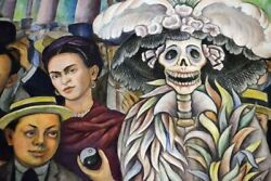 Diego Rivera- Dream Of A Sunday Afternoon In Alameda - Canvas Or Print Wall Art