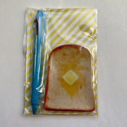 Hobonichi Store Exclusive UniJetstream Pen and novelty Mini Toast Plate set $21.50