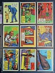 1957 Topps Gee Whiz Quiz Isolation Booth Complete 88 Card Set Vg/ex