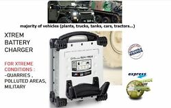 Xtrem Lead Battery Charger For Quarries Military Plants Truck Tank Cars Tractors