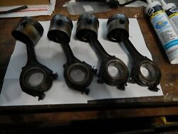 Mg Midget, Sprite 1098 Connecting Rods With Std Bore Pistons