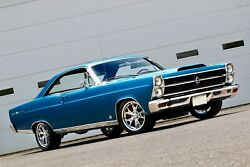 1967 Ford Fairlane 500 Coup Hardtop Poster 24 X 36 Inch