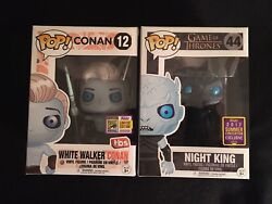 Sdcc 2017 Game Of Thrones Funko Pop Night King And White Walker Conan