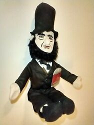 Little Thinkers Abraham Lincoln Plush Doll Educational Toy 17''. New