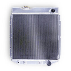 3 Row Aluminum Radiator For 1965-1966 Ford Mustang/ 1963-1964 Falcon 4.3l 4.7l