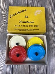 Card Holders By Northbrook Plastic Card Company Set Of 4 Play Cards For Fun
