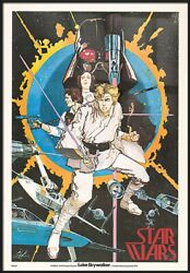 Star Wars Iv A New Hope - Framed Movie Poster 1st Edition - Howard Chaykin