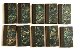 The Mermaid Series Unwin Antique Leather Book Set Books For Staging Decor