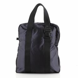 Sport Line Double Pocket Tote Quilted Nylon Large