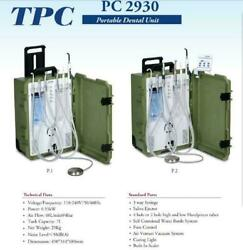 Tpc Portable Dental Unit With Built-in Ultrasonic Scaler And Curing Light Pc2930