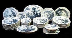 Brown-westhedmoore And Co 42 Pieces Complete Porcelain Set Made Between 1890-1904
