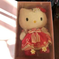 Rare Unopened Sanrio Hello Kitty Birthday Plush Doll Limited Edition From Japan