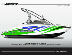 Ipd Boat Graphic Kit For Yamaha 212x 212ss Sx210 And Ar210 Ob Design