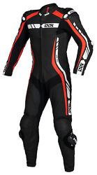 Ixs Rs-800 1.0 Menand039s Leather Suit Motorcycle One Piece Suit Summer Sport Racing