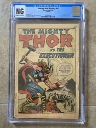Journey Into Mystery 84 Cgc Ow/w 1st App. Jane Foster 2nd App Thor 1962 Marvel