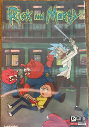 Rick And Morty 1 Artist Proof Comic - Lenticular Cover Variant - Rare