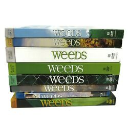 Weeds Complete Series Seasons 12345678 Dvd Blu-ray Used Not Tested