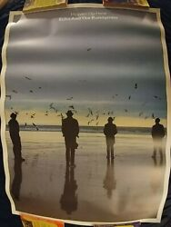 Echo And The Bunnymen Vintage Heaven Up Here Poster 35 X 25