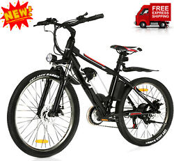 26and039and039 350w Electric Bike Pro Mountain Bicycle Adult Ebike 8 Ah Removablebattery_@